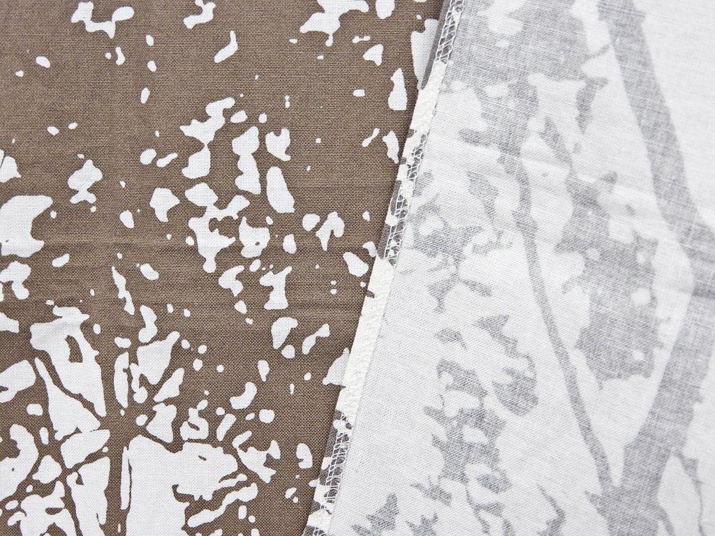 マリメッコ marimekko トゥーリ TUULI ブラウン 68×238 ビンテージファブリック 生地 マイヤ・イソラ Maija Isola ◇