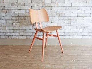 アーコール ERCOL バタフライチェア Butterfly Chair ルシアン・アーコラーニ ミレニアルピンクカラー 限定色 希少 英国家具 ●