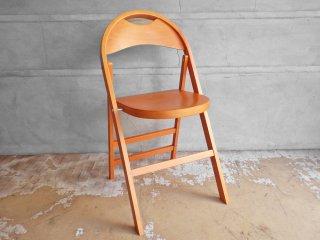 トーネット THONET ベントウッドチェア B-751 スタイル ブナ材 フォールディングチェア 折りたたみ椅子 曲げ木 A ♪