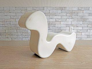 イノベーション INNOVATION ファントムチェア Phantom chair ホワイト ラウンジチェア ヴェルナー・パントン Verner Panton 北欧 デンマーク ミッドセンチュリー ●