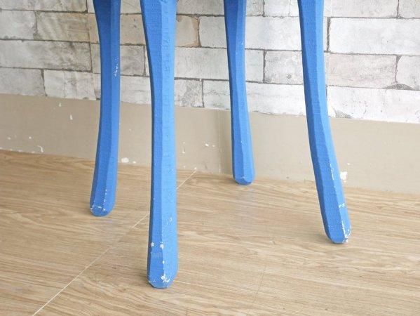 ムート MUUTO ロウ RAW サイドテーブル スツール Φ40cm ブルー Jens Fager 国内販売終了品 デンマーク 北欧家具 ●