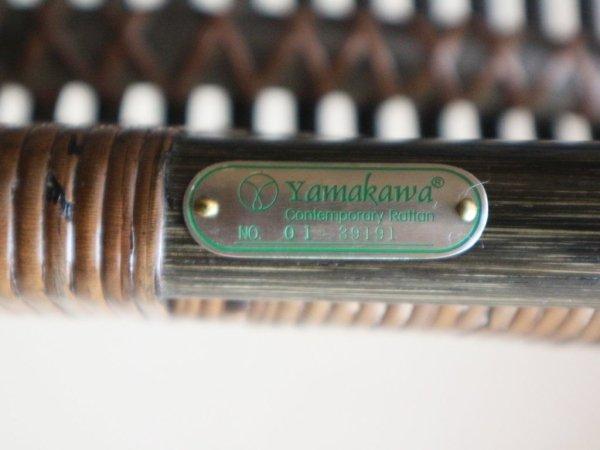 山川ラタン  クラシックス サイドチェア CD-170 ラウンジチェア 籐製 定価\55,000- 展示美品 ◎