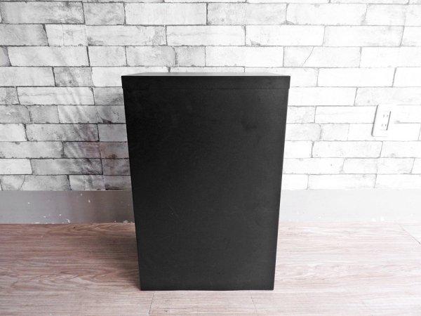 ビスレー BISLEY ベーシック BASICシリーズ 29/6 A4 デスクキャビネット ブラック セミマット 抽斗6杯 オフィス家具 英国 ●