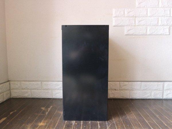 ビスレー BISLEY ベーシック BASICシリーズ 29/6 A4 キャビネット ブラック 抽斗6杯 デスクキャビネット オフィス家具 英国 艶あり A ◎