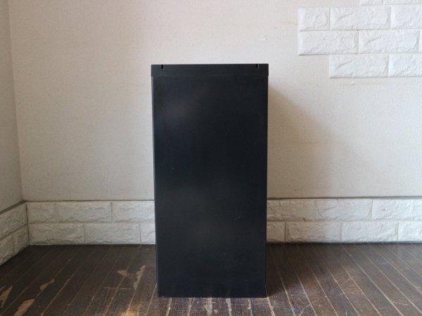 ビスレー BISLEY ベーシック BASICシリーズ 29/6 A4 キャビネット ブラック 抽斗6杯 デスクキャビネット オフィス家具 英国 艶あり B ◎