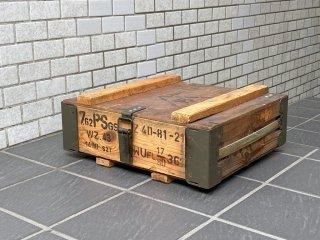 USビンテージ US Vintage 7.62弾 NATO弾 木箱 バレットケース ボックス 米軍 軍用 ミリタリー ■