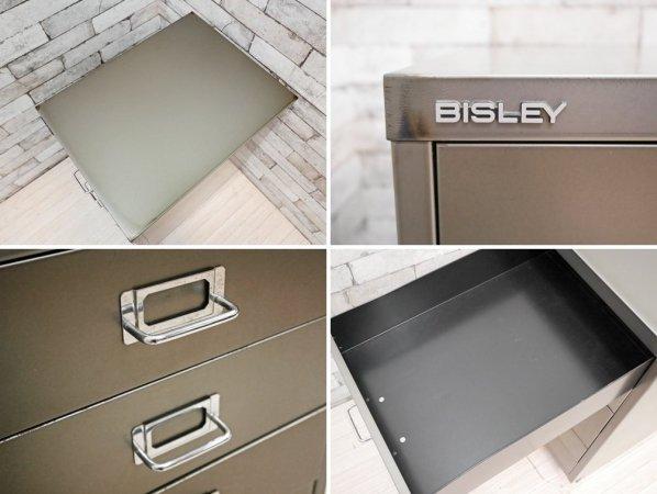 ビスレー BISLEY ベーシック BASICシリーズ BA3/6 A3 デスクキャビネット シルバー系 抽斗6杯 ノーマルベース付 オフィス家具 英国 ●