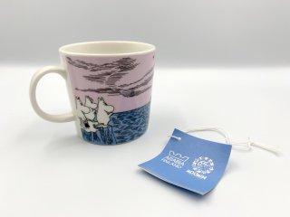 アラビア ARABIA ムーミン マグカップ ムーミンマグ 65周年記念 2010年限定 ナイトセーリング タグ付 箱欠品 未使用品 ◎