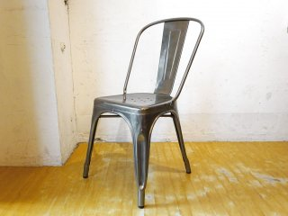 トリックス TOLIX エーチェア A-chair スタッキングチェア ガルバナイズド グザビエ・ポシャール インダストリアル 工業系 フランス B ★