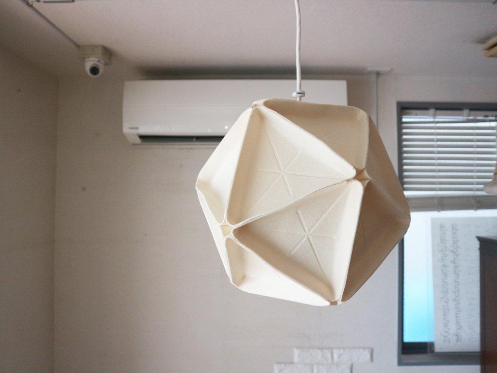 イデー IDEE イコサ ランプ ICOSA LAMP ペンダントライト モールド フェルト ◎