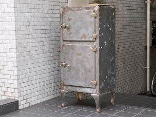 USビンテージ US Vintage 氷冷式冷蔵庫 アイスボックス キャビネット ■