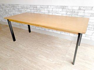 ウニコ unico ホクストン HOXTON ダイニングテーブル アッシュ材 アイアン W186 ナチュラルカラー ¥87,780- E  ●