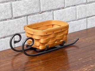 ロンガバーガー LONGABERGER ファウンドリーコレクション Foundry Collection キーバスケット アメリカ製 希少 ■