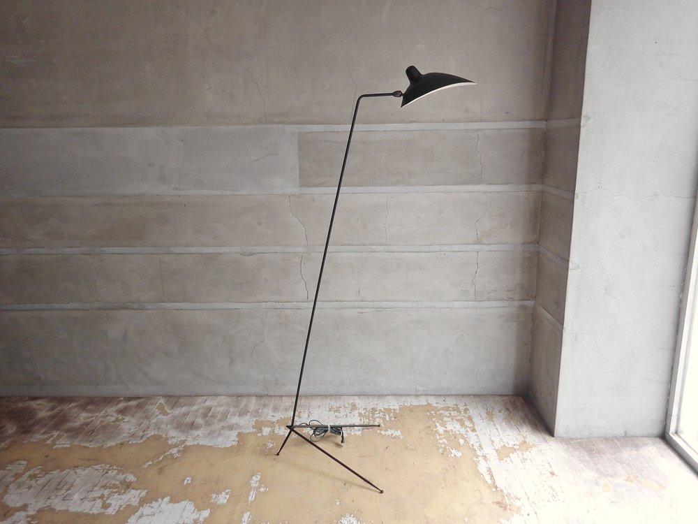 イデー IDEE ランパデール アン ルミエール LAMPADAIRE 1 LUMIERE セルジュ ムーユ Serge Mouille デザイン 1灯タイプ ブラック ♪
