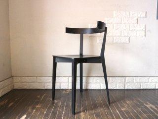 アダル ADAL ココチェア Coco chair ダイニングチェア オーク材 プライウッド ブラック 富永周平 富永伸平 定価¥46,200- 北欧テイスト A ◎