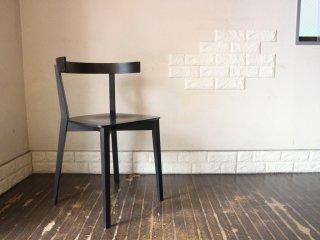 アダル ADAL ココチェア Coco chair ダイニングチェア オーク材 プライウッド ブラック 富永周平 富永伸平 定価¥46,200- 北欧テイスト B ◎