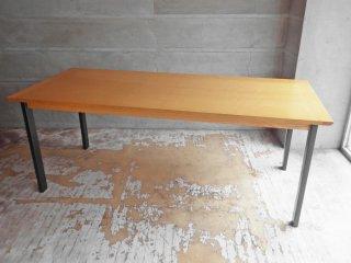 ウニコ unico ホクストン HOXTON ダイニングテーブル アッシュ材 アイアン W186 ナチュラルカラー 参考定価87,780円 B ♪
