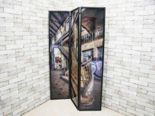 カレデザイン KARE Design ルームディバイダー ガラスパーテーション Room Divider Glass ドイツ 定価¥87,450- ●