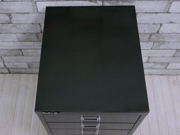 ビスレー BISLEY ベーシック BASICシリーズ BA3/6 A3 デスクキャビネット ブラック 抽斗6杯 オフィス家具 英国 B ●