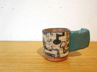 キム・ホノ KIMHONO マグカップ Mug 現代作家 陶器 陶芸 B ★