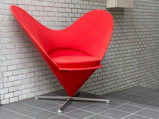 ヴィトラ vitra ハートコーンチェア Heart Cone Chair レッド ヴェルナー・パントン Verner Panton 名作椅子 ■