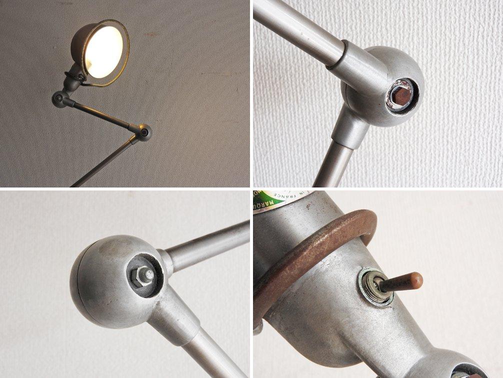 ジェルデ JIELDE 3アーム フロアランプ FLOOR LAMP インダストリアル シルバーメタル 初期型 ビンテージ ●