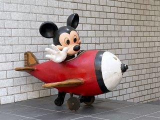 USビンテージ US Vintage ディズニー ミッキーマウス Disney Mickey Mouse ディズニーストア ディスプレイフィギュア 非売品 ■