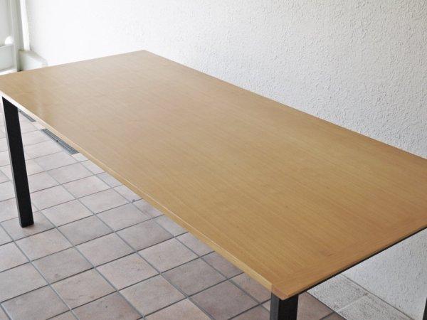 ウニコ unico ホクストン HOXTON ダイニングテーブル アッシュ材 アイアン W186 ナチュラル 廃番カラー 定価¥87,780- ◇
