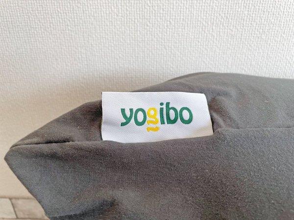 ヨギボー yogibo マックス MAX ビーズソファ ビーズクッション クッション ダークグレー 定価32,780円 替えカバー付 ●