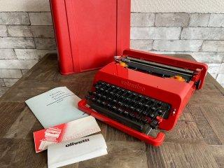 オリベッティ olivetti タイプライター バレンタイン エス Valentine S 赤いバケツ エットーレ・ソットサス Ettore Sottsass MoMA レトロ 復刻版 ●