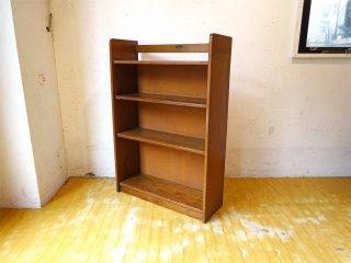 ジャパンビンテージ Japan Vintage 本棚 ブックシェルフ 木味 古道具 日本の古い家具 ★