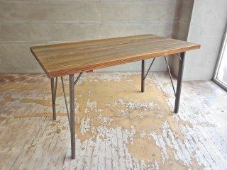 ジャーナルスタンダードファニチャー journal standard Furniture シノン ダイニングテーブル CHINON DINING TABLE S 杉古材 廃番 ♪