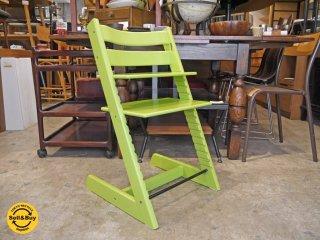 ストッケ STOKKE トリップトラップ TRIPP TRAPP ベビーチェア チャイルドチェア 子供椅子 高さ調整 旧型後期 ナチュラル 北欧 ノルウェー ●