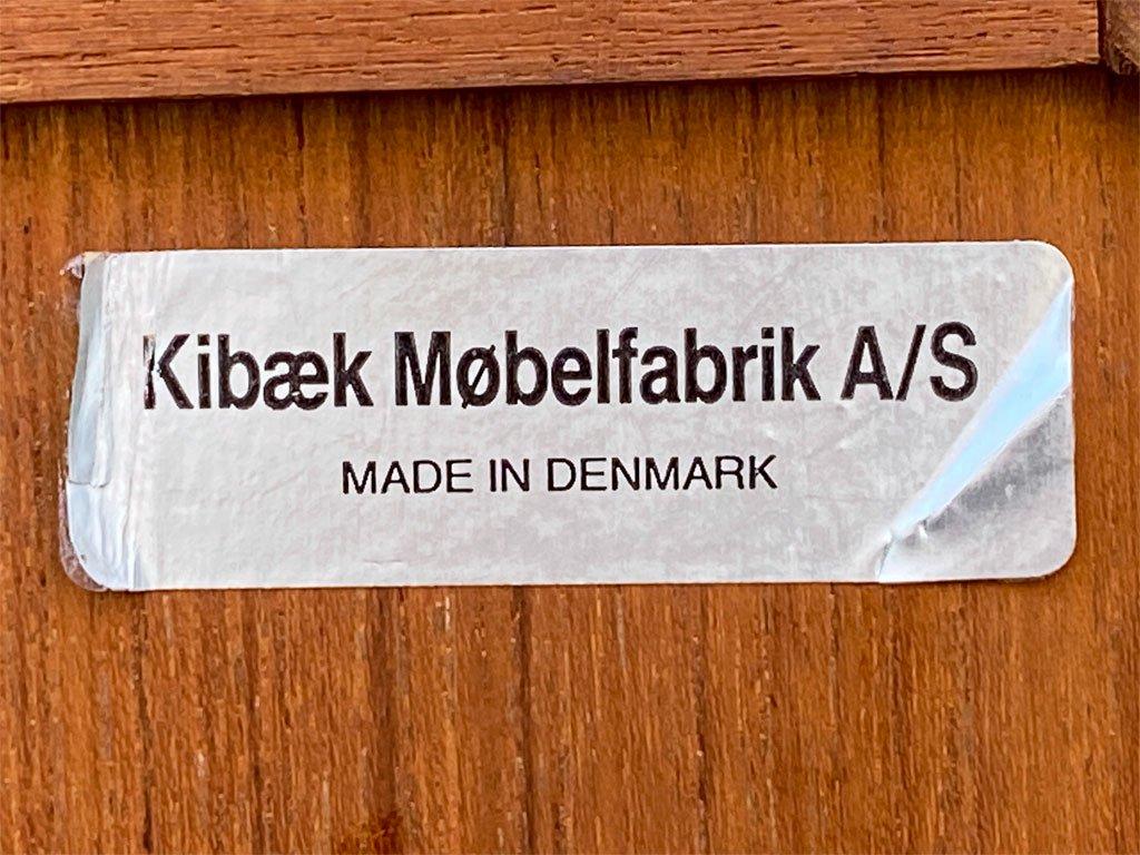 キバエクモーベルファブリック Kibaek Mobelfabrik チーク無垢材 ドレッサー ドレッシングデスク 70's 北欧家具デンマークビンテージ Danish Vintage  ■
