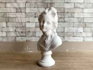 薔薇の少女 胸像 Plaster statue 石膏像 ジュゼッペ・ベッシ Giuseppe Bessi デッサン 絵画用品 ディスプレイ オブジェ ●