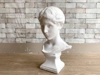 フレンチ胸像 Plaster statue 石膏像 ダニエル・チェスター・フレンチ デッサン 絵画用品 ディスプレイ オブジェ ●