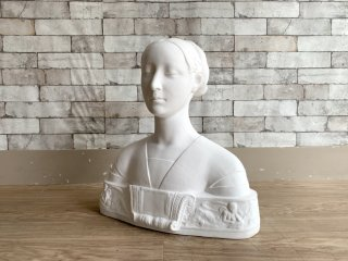 マリア・スフォルツ 胸像 Plaster statue 石膏像 フランチェスコ・ローラナ デッサン 絵画用品 ディスプレイ オブジェ ●