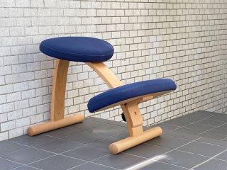 サカモトハウス SAKAMOTO HOUSE リボ Rybo バランスイージー Balance Easy ネイビー バランスチェア 学習椅子 ■