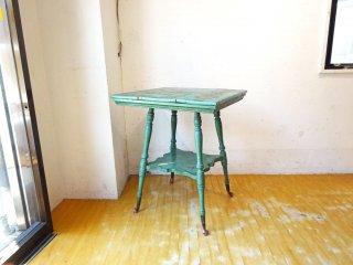 フランスビンテージ France Vintage シャビーシック カフェテーブル サイドテーブル 猫脚 ★