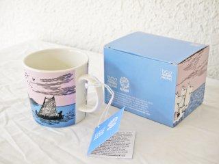 アラビア ARABIA ムーミン マグカップ ナイトセーリング Night Sailing 65周年記念 2010年限定 タグ 元箱付 未使用品 ◇