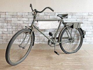 スウェーデンビンテージ Swedish Vintage モナーク MONARK 自転車 26インチ スウェーデン軍 ミリタリー 現状品 ディスプレイ用 インテリアとして ●