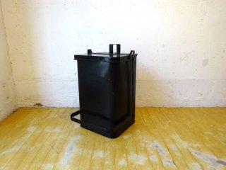 プエブコ PUEBCO ステップ トラッシュカン Step Trashcan ペダルペール TRASH BOX ゴミ箱 スチール製 一点物 ハンドメイド ★