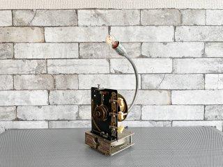 インダストリアルデザイン industrial design ビンテージ テーブルランプ メカニカルランプ リメイクアイテム ●
