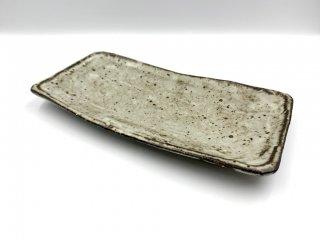 小野哲平 長角皿 プレート 長方形 陶芸家 現代作家 ◎