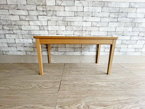 ウニコ unico クラルス CLARUS ローテーブル コーヒーテーブル センターテーブル アッシュ材 ナチュラル 北欧スタイル 廃番 ●