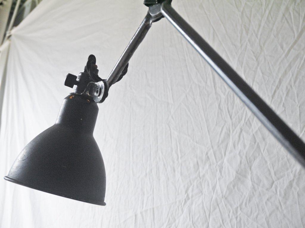 グラ GRAS デスクランプ クランプ式 アトリエランプ ベルナール・アルバン・グラス デザイン フランス ビンテージ インダストリアル ◇