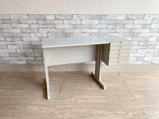 オリベッティ olivetti シンテシス45 サイドデスク Synthesis45 Side Desk タイプライターデスク エットーレ・ソットサス Ettore Sottsass ●