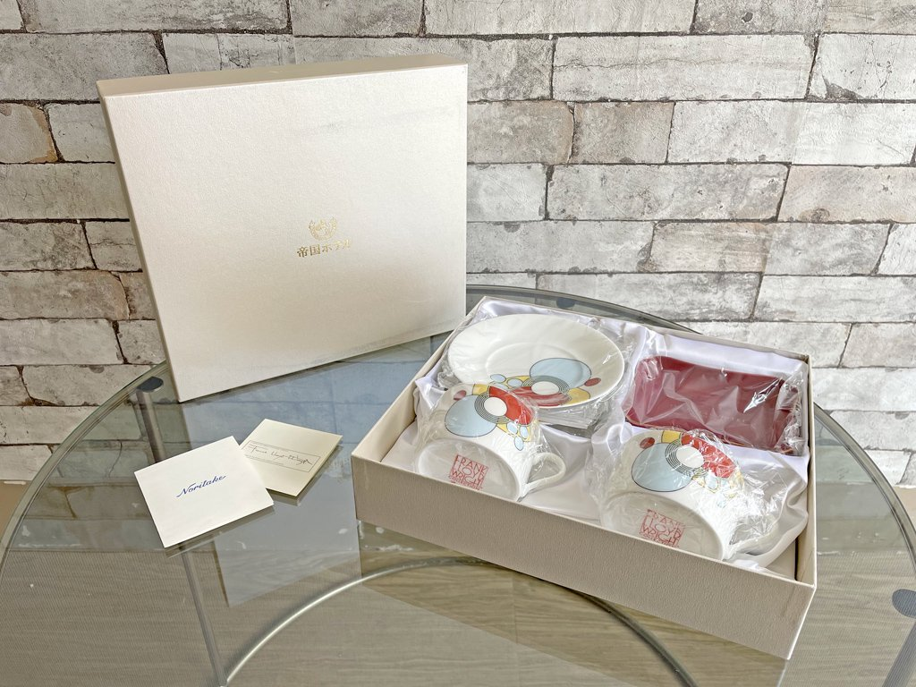 ノリタケ NORITAKE インペリアル IMPERIAL 食器セット C&S フランク・ロイド・ライト Frank Lloyd Wright 帝国ホテル 未使用品 ●