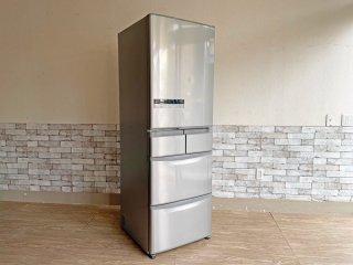 日立 HITACHI ノンフロン冷凍冷蔵庫 R-S42CM 2013年製 415L 5ドア 自動製氷 フロストリサイクル冷却 ビッグ&スリム ●