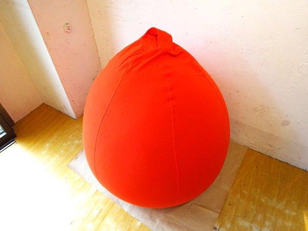 ヨギボー yogibo ポッド Pod 1人掛け ソファ ビーズクッション オレンジ 替えカバー付き 合計定価:39,270円 ★